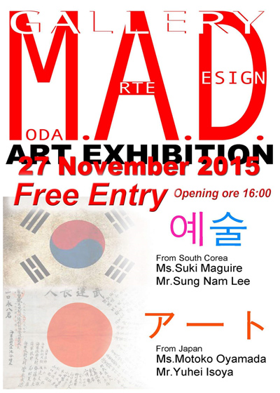GALLERY MODA ARTE DESIGN ART EXHIBITION
